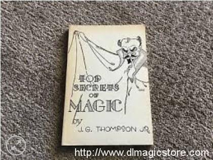 Top Secrets Magic By J.G. Thompson
