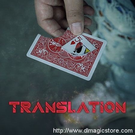 Translation by SansMinds Creative Lab (Gimmick not included)