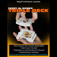 Triple Deck by Ferry De Riemer (Deck Not Included)