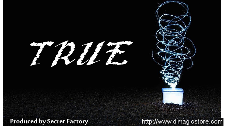 True by Mr. K & Secret Factory (Gimmick Not Included)