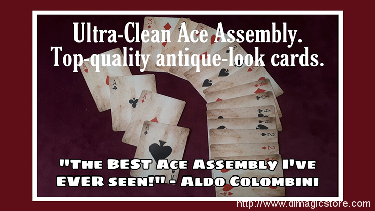 Ultra Clean Ace Assembly by Paul Gordon (Gimmick Not Included)