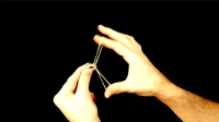 Ultra Rising Ring on Rubber Band by Rasmus