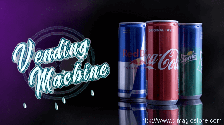 Vending Machine by SansMinds Creative Lab (Gimmick Not Included)