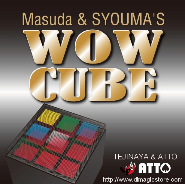 WOW Cube by Masuda & Shouma (Gimmick Not Included)