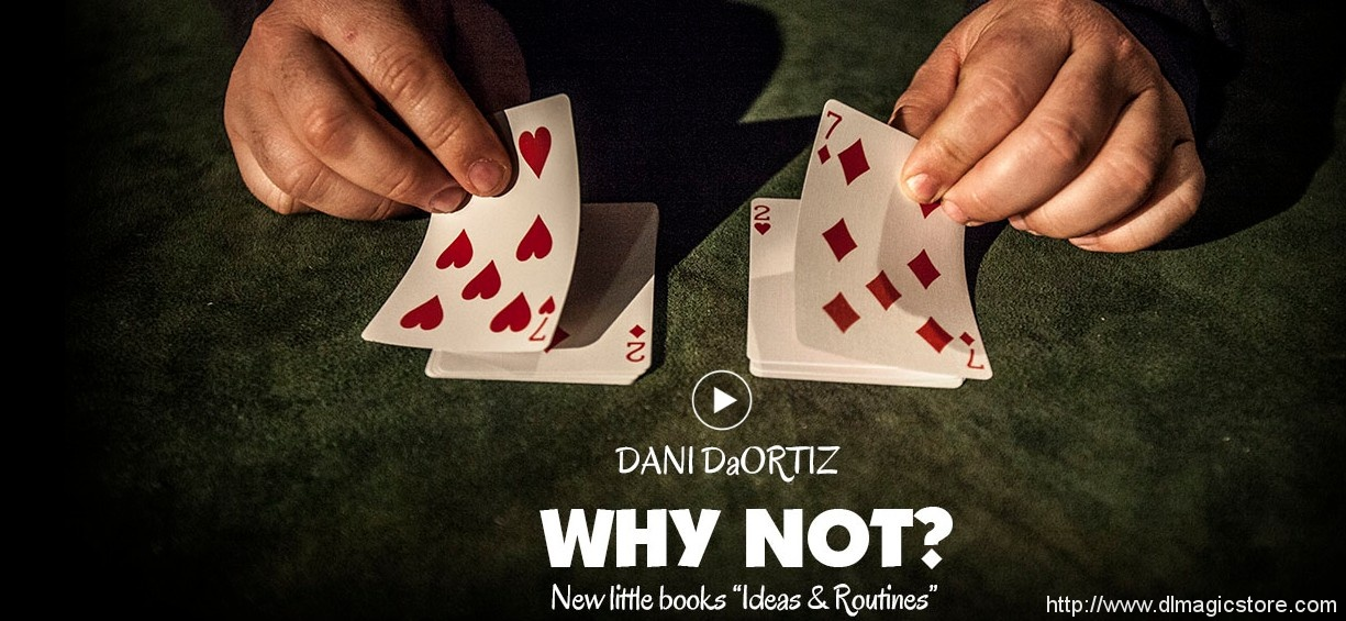 Why Not by Dani DaOrtiz (Spanish Languge)