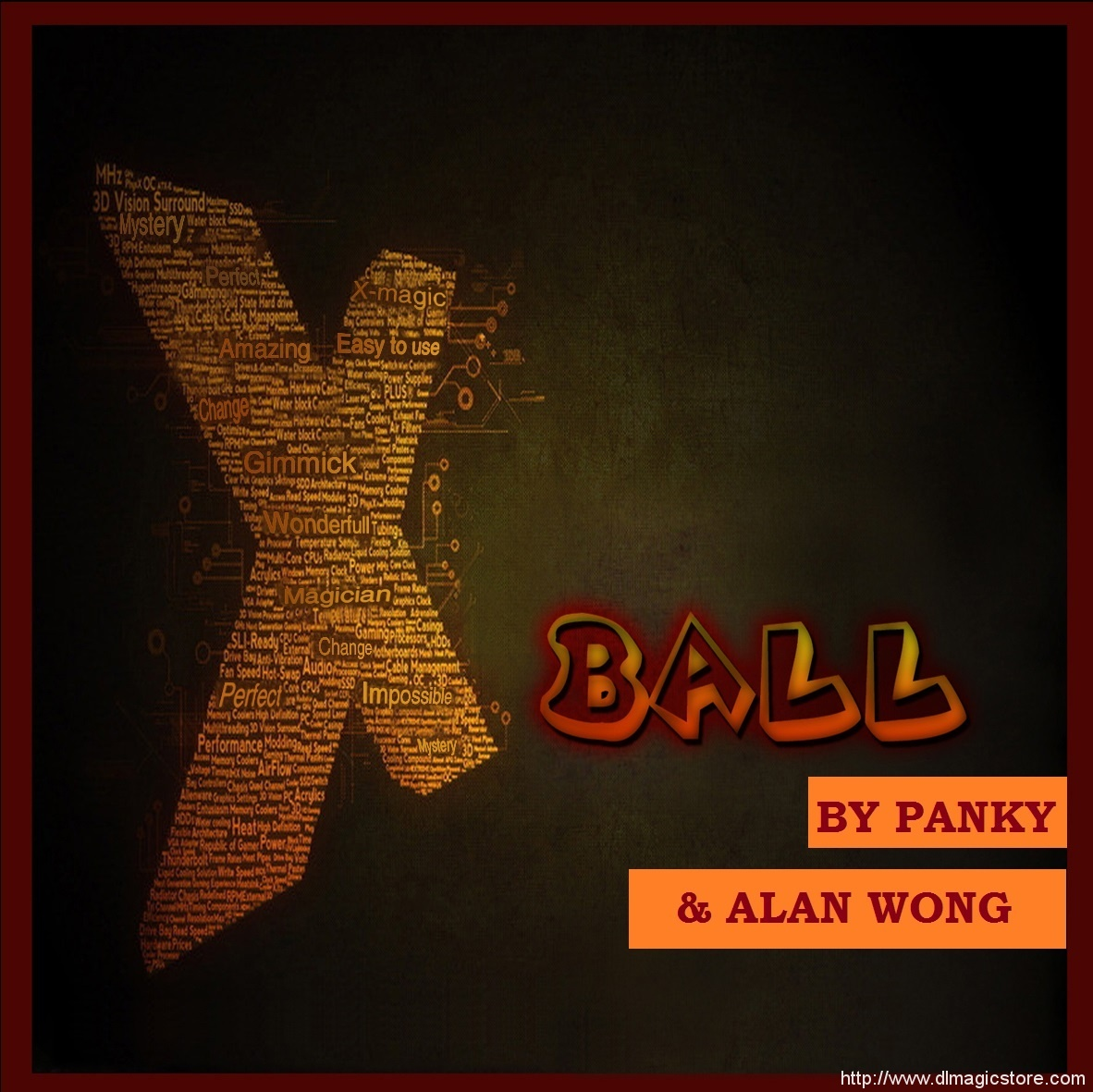 X-Ball by Panky and Alan Wong (Gimmick Not Included)