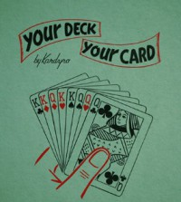 Your Deck – Your Card By Tony Kardyro