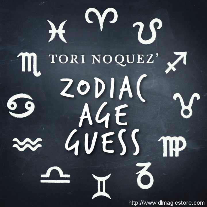 ZAG: Zodiac Age Guess presented by Tori Noquez (Instant Download)