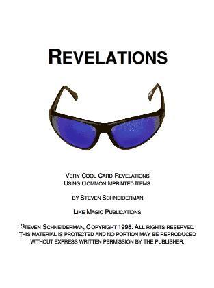 Revelations by Steven Schneiderman