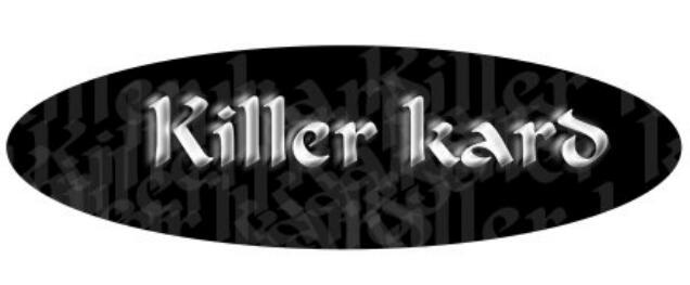 Killer Kard by Alan Rorrison