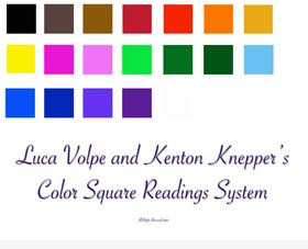 Color Square Readings System by Luca Volpe & Kenton Knepper