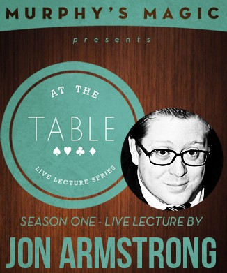 At the Table Live Lecture by Jon Armstrong