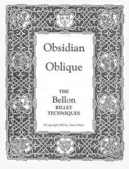 Obsidian Oblique by Alain Bellon