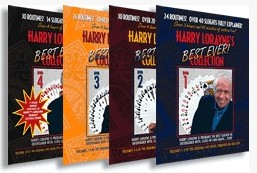 Best Ever Collection by Harry Lorayne 4 Volume set