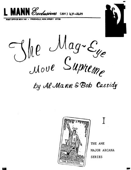 Mag Eye Move Supreme by Al Mann