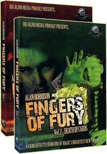 Fingers of Fury by Alan Rorrison