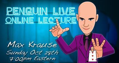 Max Krause LIVE Penguin LIVE