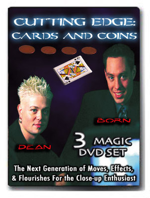 ​Cutting Edge Cards and Coins with Jason Dean and John Born 3 Volume set