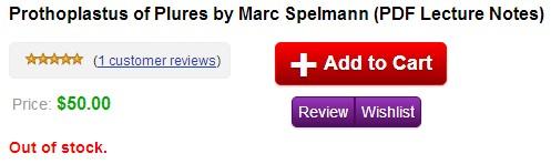 Prothoplastus of Plures by Marc Spelmann PDF Lecture Notes