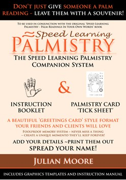 Palmistry Tick Sheet by Julian Moore
