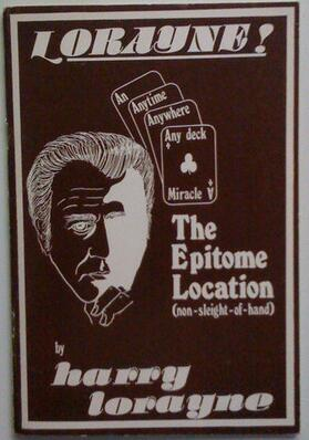 The Epitome Location by Harry Lorayne