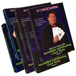 Incredible Self Working Card Tricks by Michael Maxwell 6 Volume set