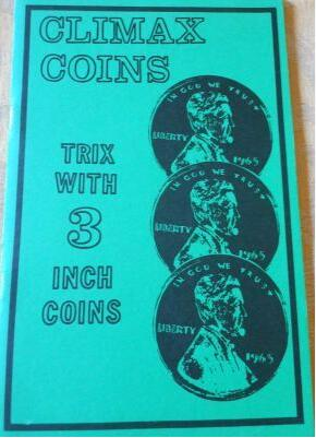 Climax Coins by Jerry Mentzer