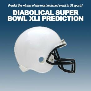 Diabolical Super Bowl XLI Prediction