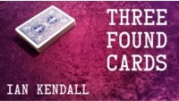 Three Found Cards by Ian Kendall