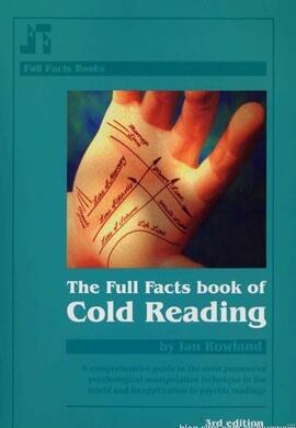 Full Facts Book of Cold Reading by Ian Rowland