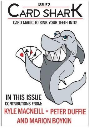 Kyle MacNeill Card Shark Issue 2 November 2011