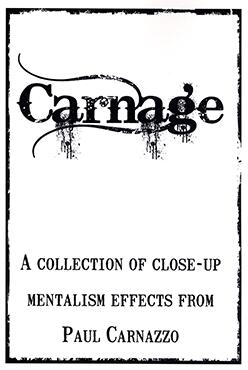 Carnage by Paul Carnazzo