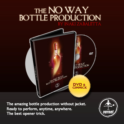 No Way Bottle Production by Inaki Zabaletta