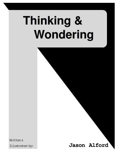 Thinking & Wondering by Jason Alford