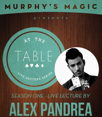 At the Table Live Lecture by Alex Pandrea