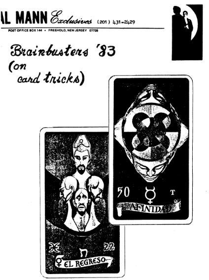 BrainBusters '83 by Al Mann