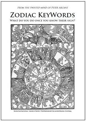 Zodiac KeyWords by Peter Arcane
