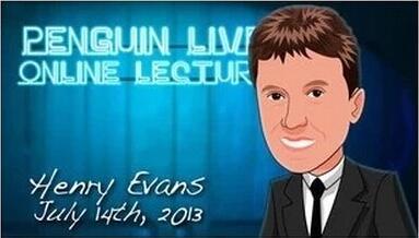 Henry Evans LIVE Penguin LIVE