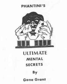 Ultimate Mental Secrets by Phantini