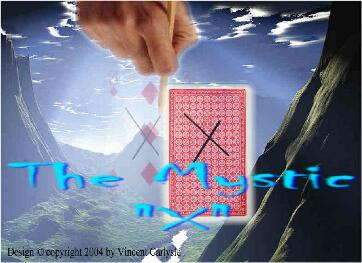 The Mystic X by Vincent Carlysle