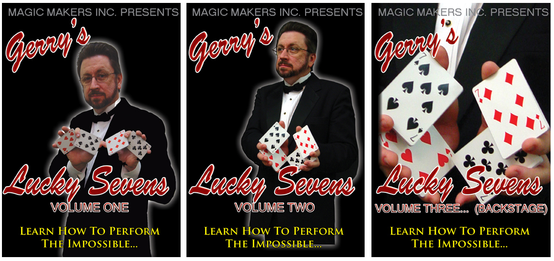 Lucky Sevens by Gerry Griffin 3 Volume set