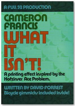 What It Isn't by Cameron Francis