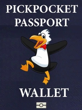 Pickpocket Passport Wallet by Gregory Wilson