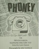 Phoney Telephone Directory Test by Trevor Dawson