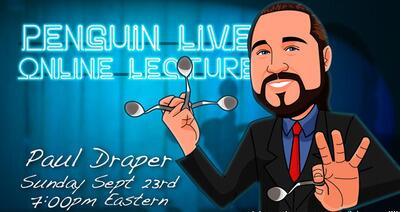 Paul Draper LIVE Penguin LIVE