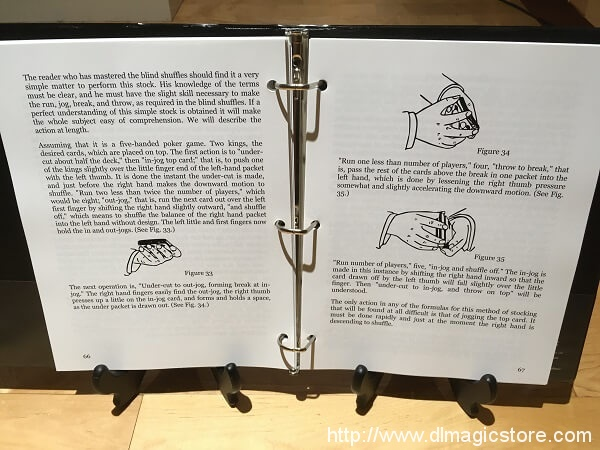 This is how the notebook looks open.
