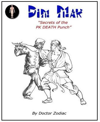Dim Mak Secrets of PK Death Punch by Scott Xavier