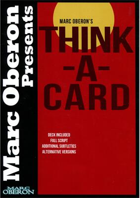 Think a card by Marc Oberon