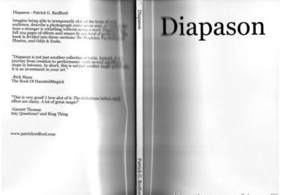 Diapason by Patrick G. Redford