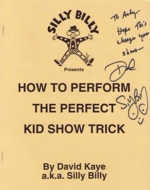 How To Perform The Perfect Kid Show Trick by David Kaye